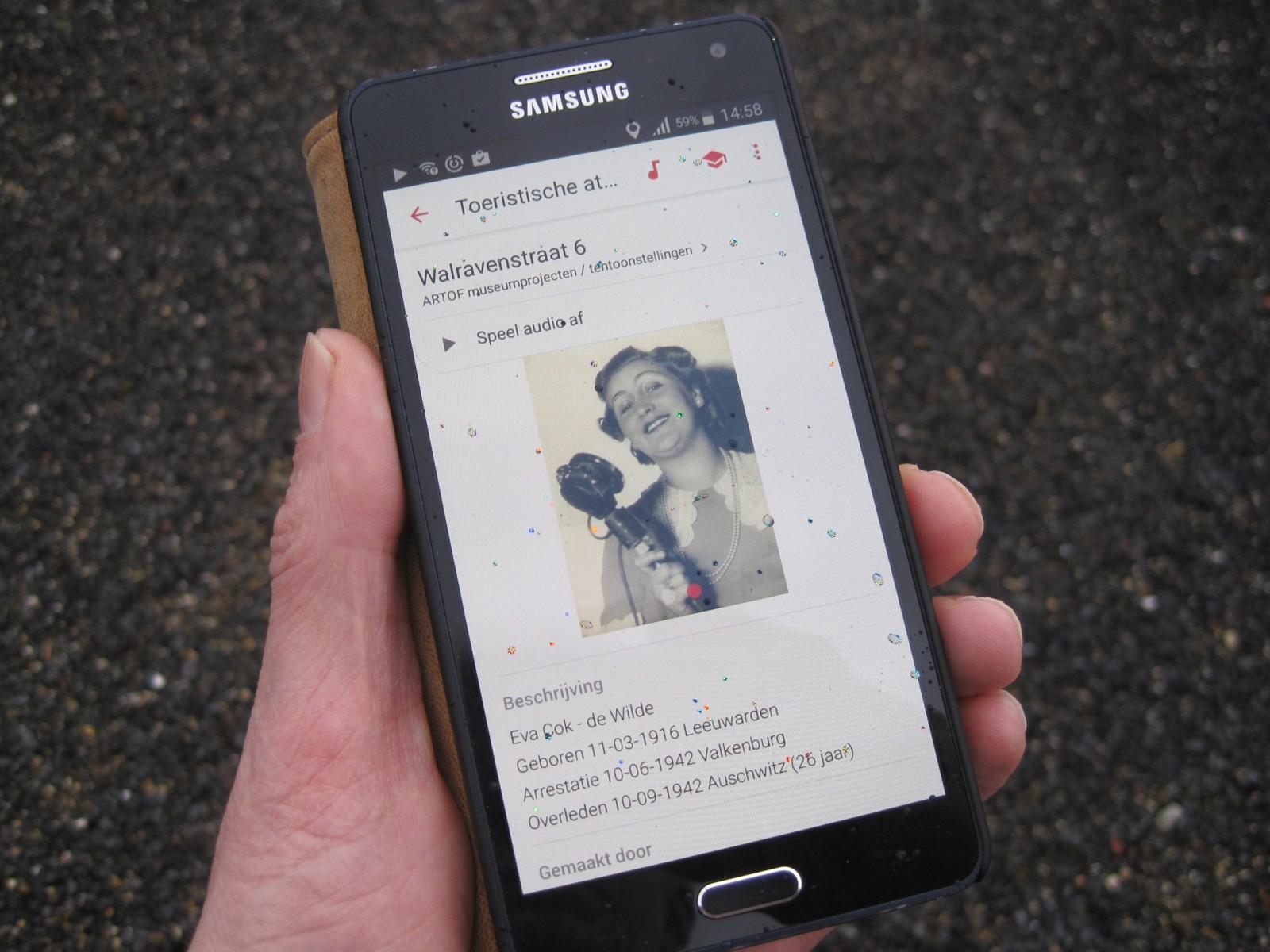 App Stolpersteine Valkenburg